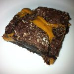 Chocolate and Caramel 'Lava' Slice – Looks Volcanic, Tastes Devine!