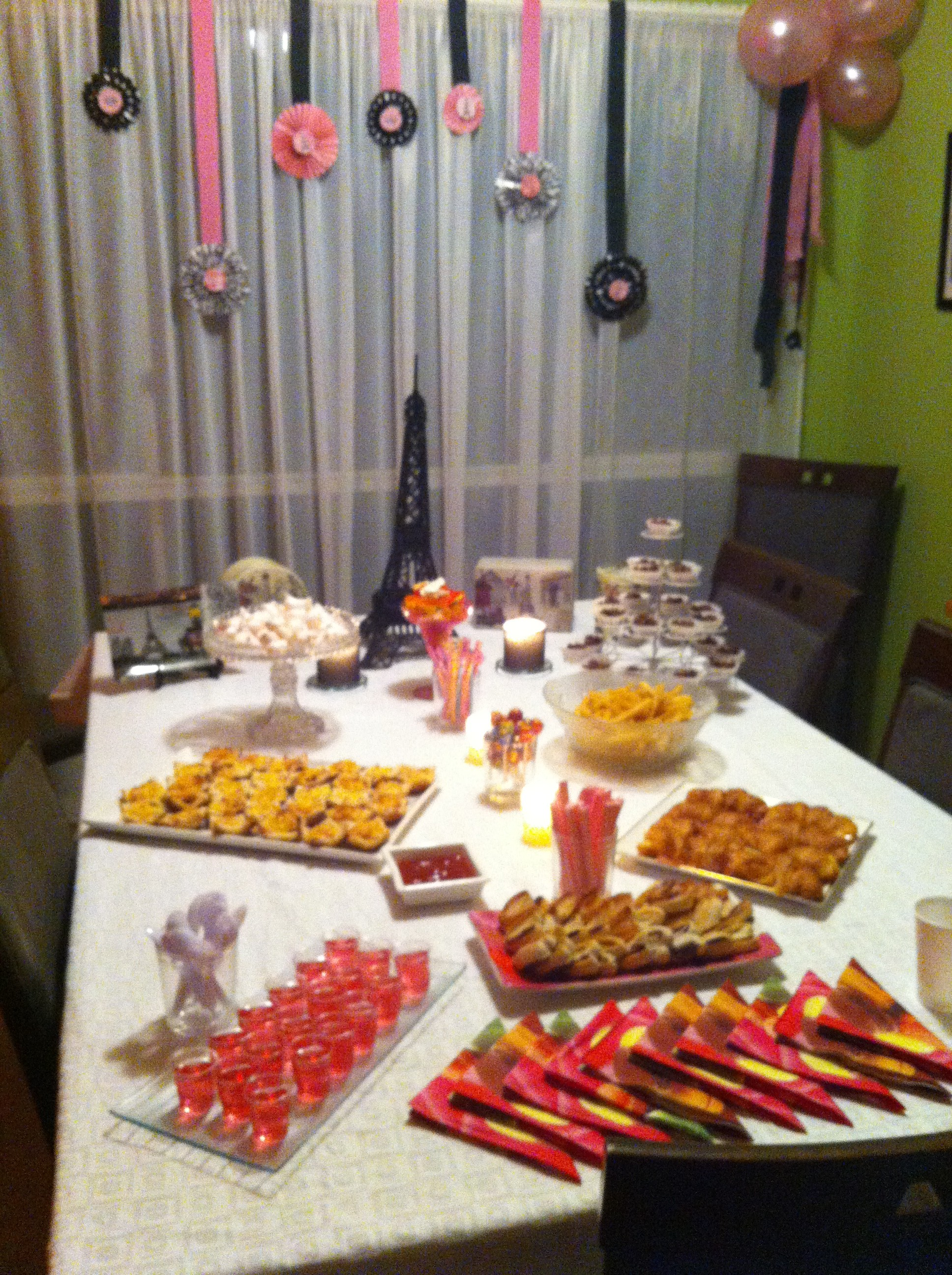A Night In Paris A French Inspired 13th Birthday Party For