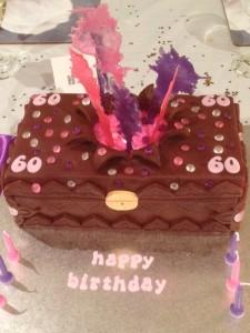 60th cake