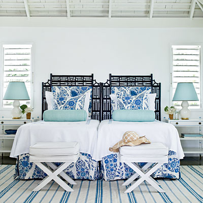 twins-blue-and-white-coastal-living - Wonderfully Women Wonderfully on blue and green bedrooms, coastal bedrooms, dark blue bedrooms, blue bedroom accessories, blue beach themed bedrooms, paint colors for bedrooms, decorating small bedrooms, blue cottage bedrooms, blue box, blue master bedroom, blue and yellow bedroom, blue bedrooms for girls, blue bedroom inspiration, blue white art, cool bedrooms, blue white screening, blue living room, navy blue and silver bedrooms, classy blue bedrooms, beautiful bedrooms,