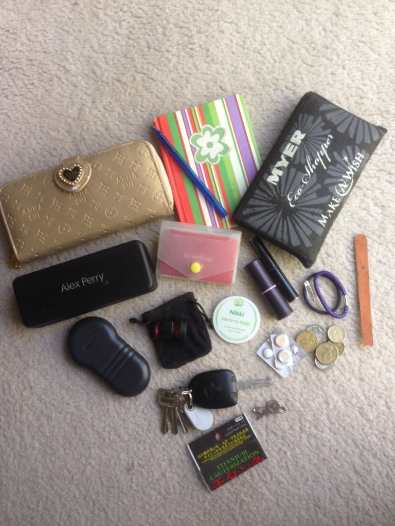 contents of my bag