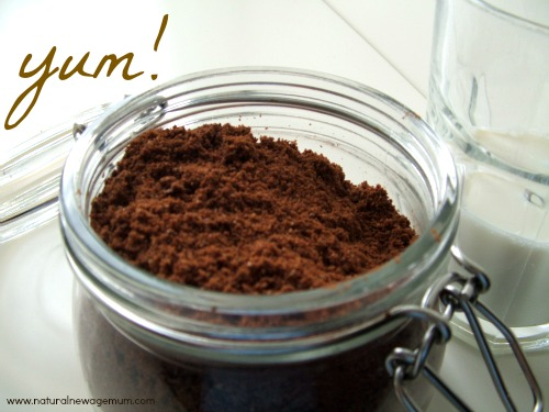 healthy chocolate drink