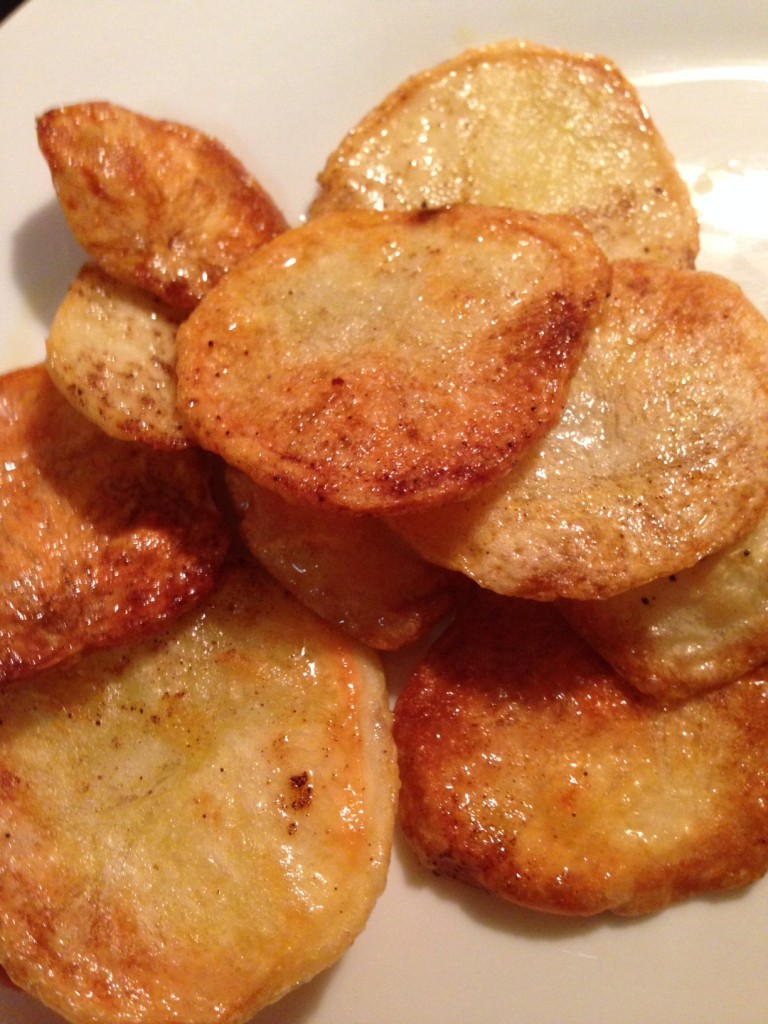 homemade low fat hot chips
