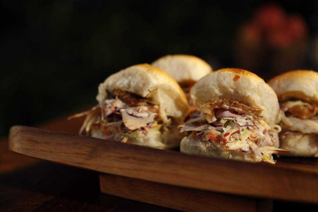 Porchetta slider