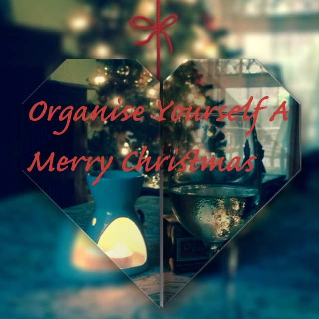 organise yourself a merry christmas