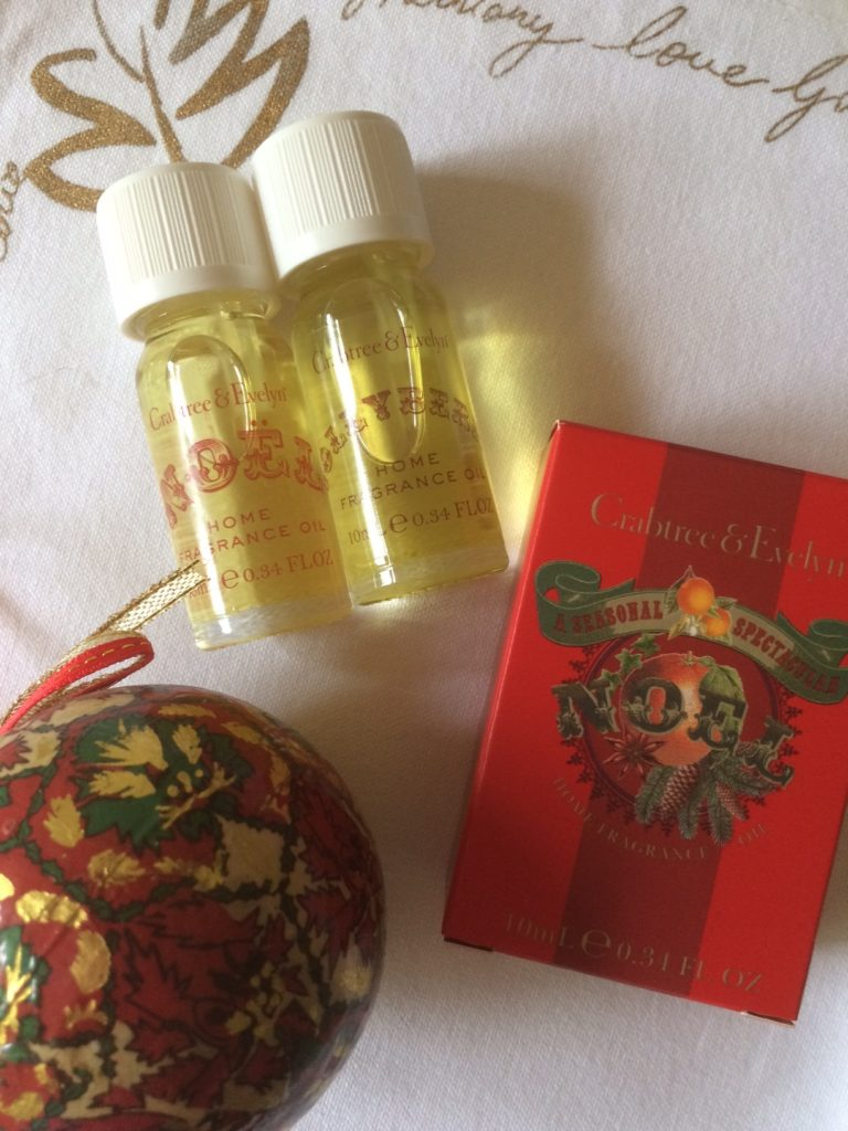 Crabtree & Evelyn Christmas Scents