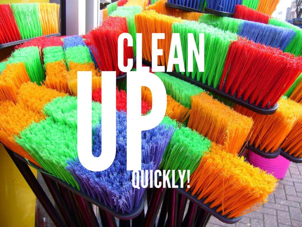 Get the housework done fast
