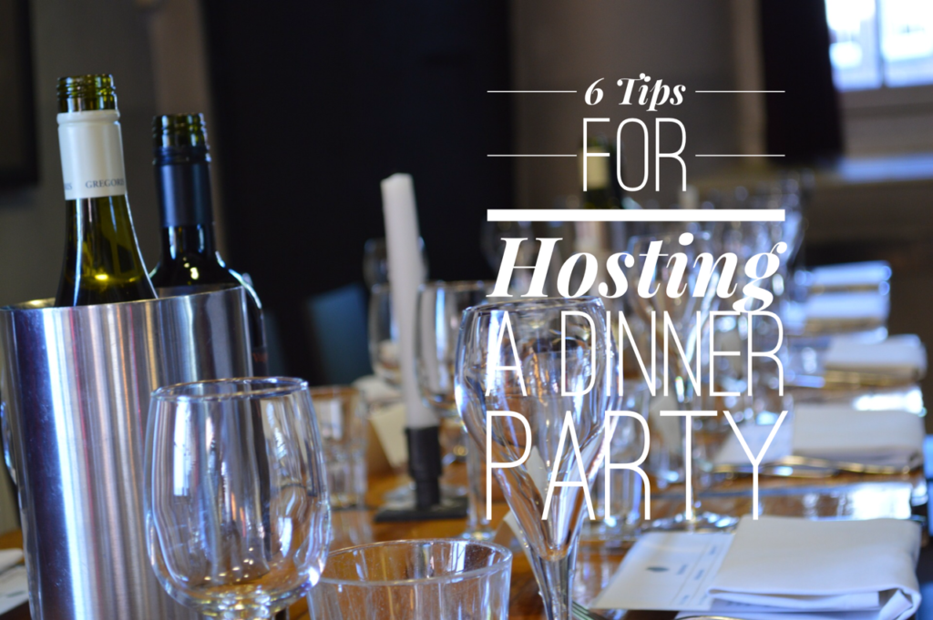 6 steps to the perfect dinner party