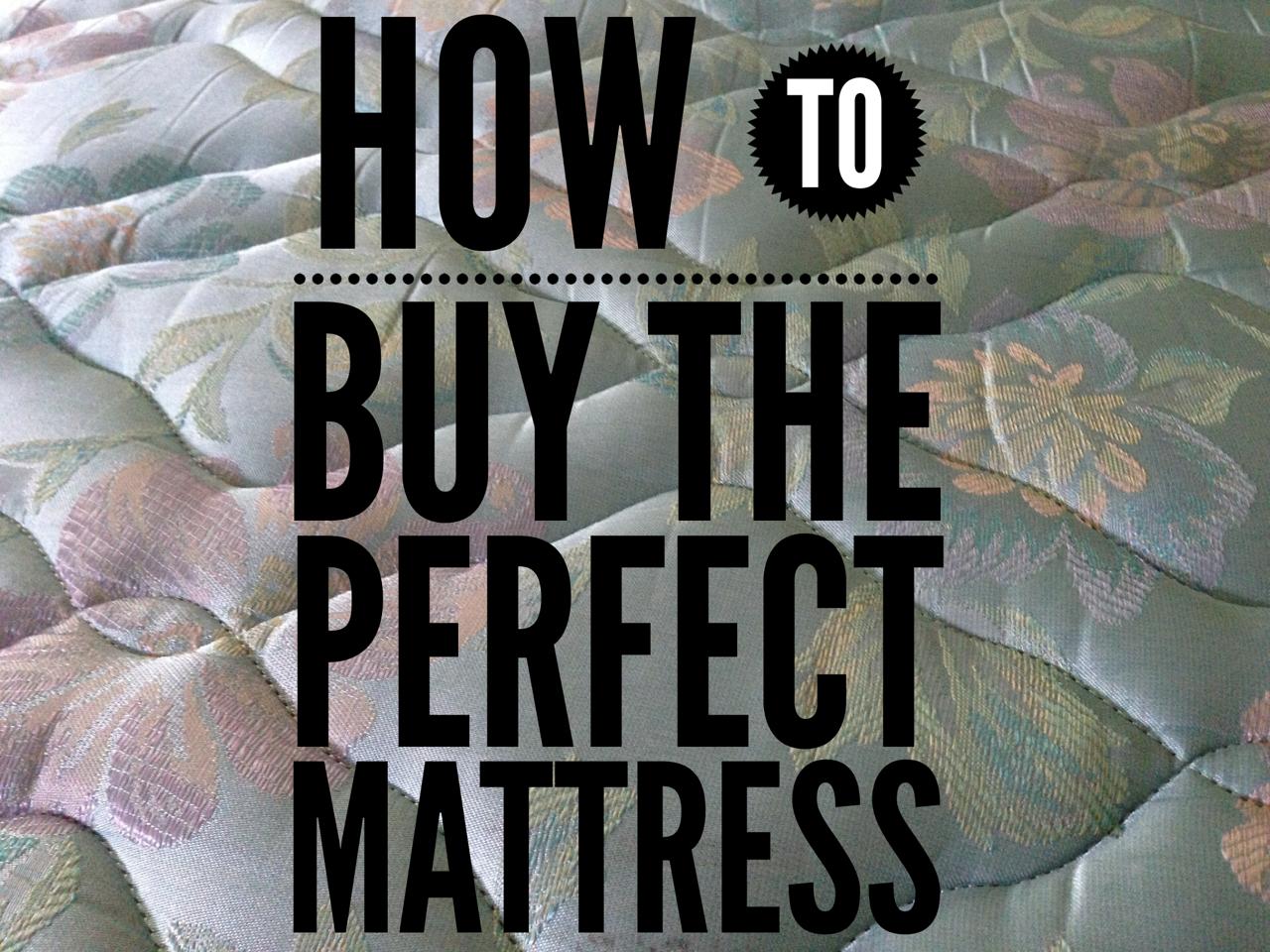 mattress buyers checklist