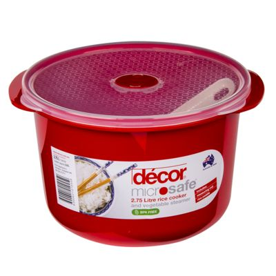 decore microwave rice cooker