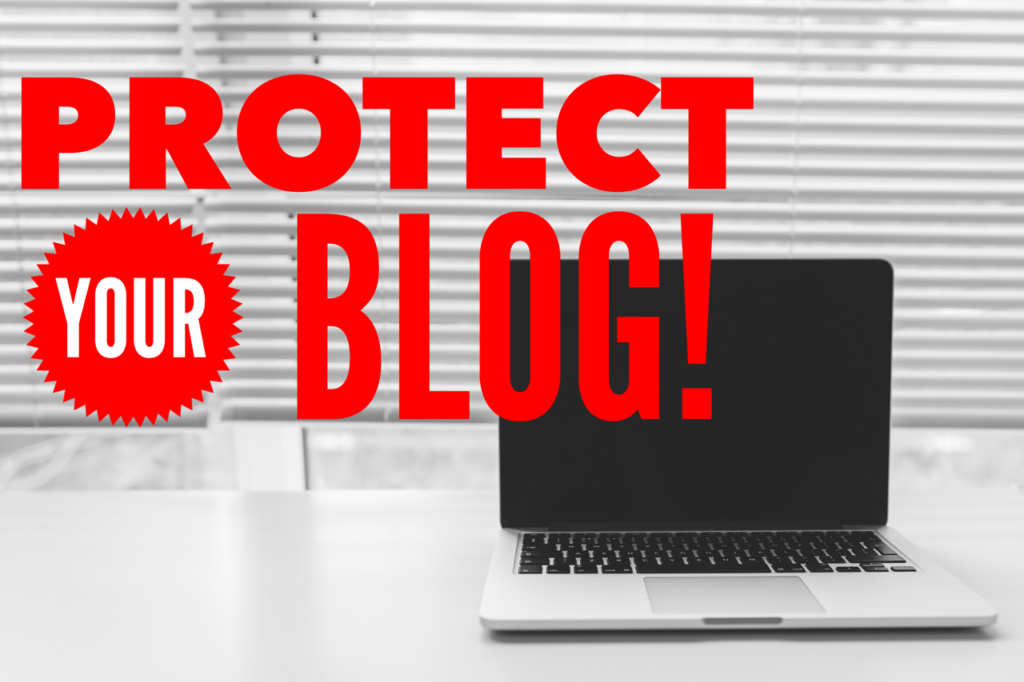 Protect your blog from hackers