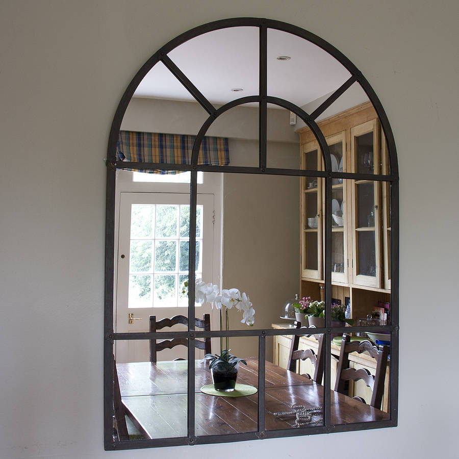 original_aged-metal-arched-wall-mirror