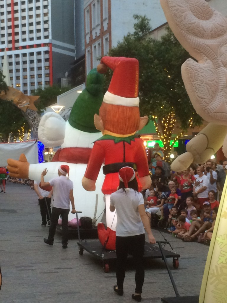 Queen Street Mall Myer Christmas Parade