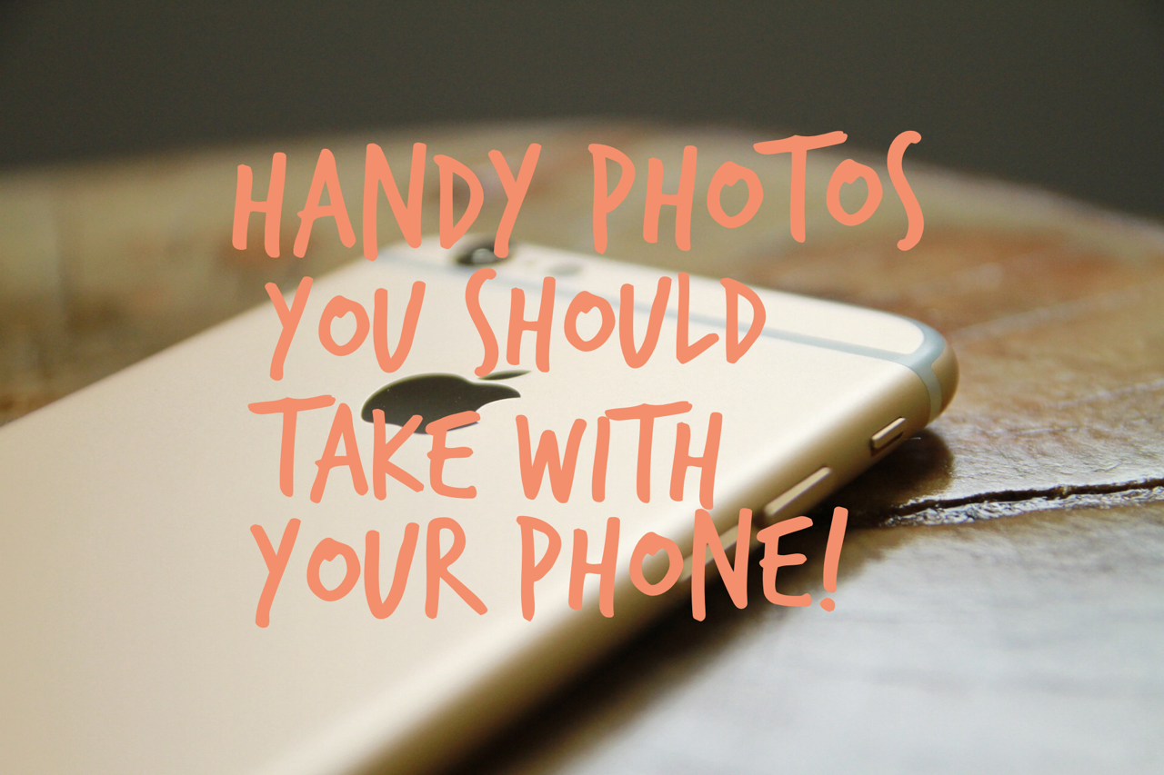 clever photo ideas for your phone