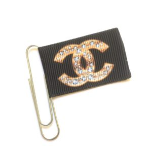 Luxe Chanel Inspired Planner Clip