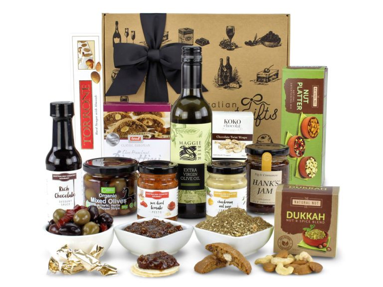 gourmet hamper christmas lunch