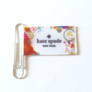 Kate Spade Inspired Ribbon Planner Clip