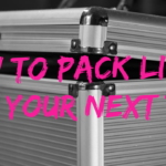 How To Pack Light For Your Next Trip!