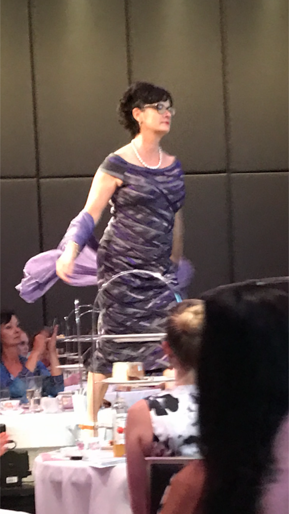 the high tea party fashion parade featuring living silk