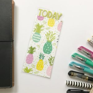pineapple today page marker
