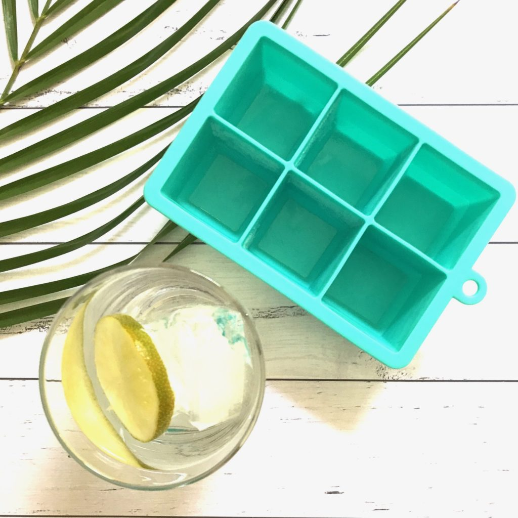 keep cool with giant ice cubes