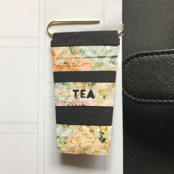 tea lover planner clip