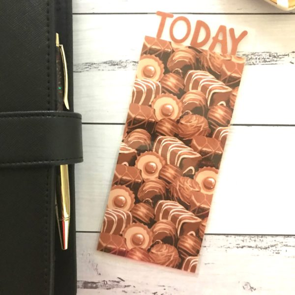 Chocolate Book Mark