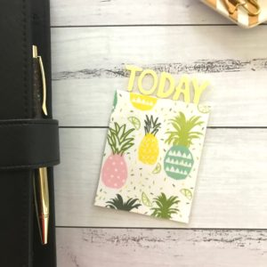 Pineapple book mark