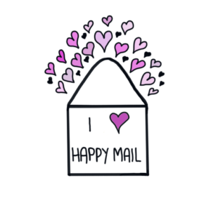 Happy Mail Printable Diecut