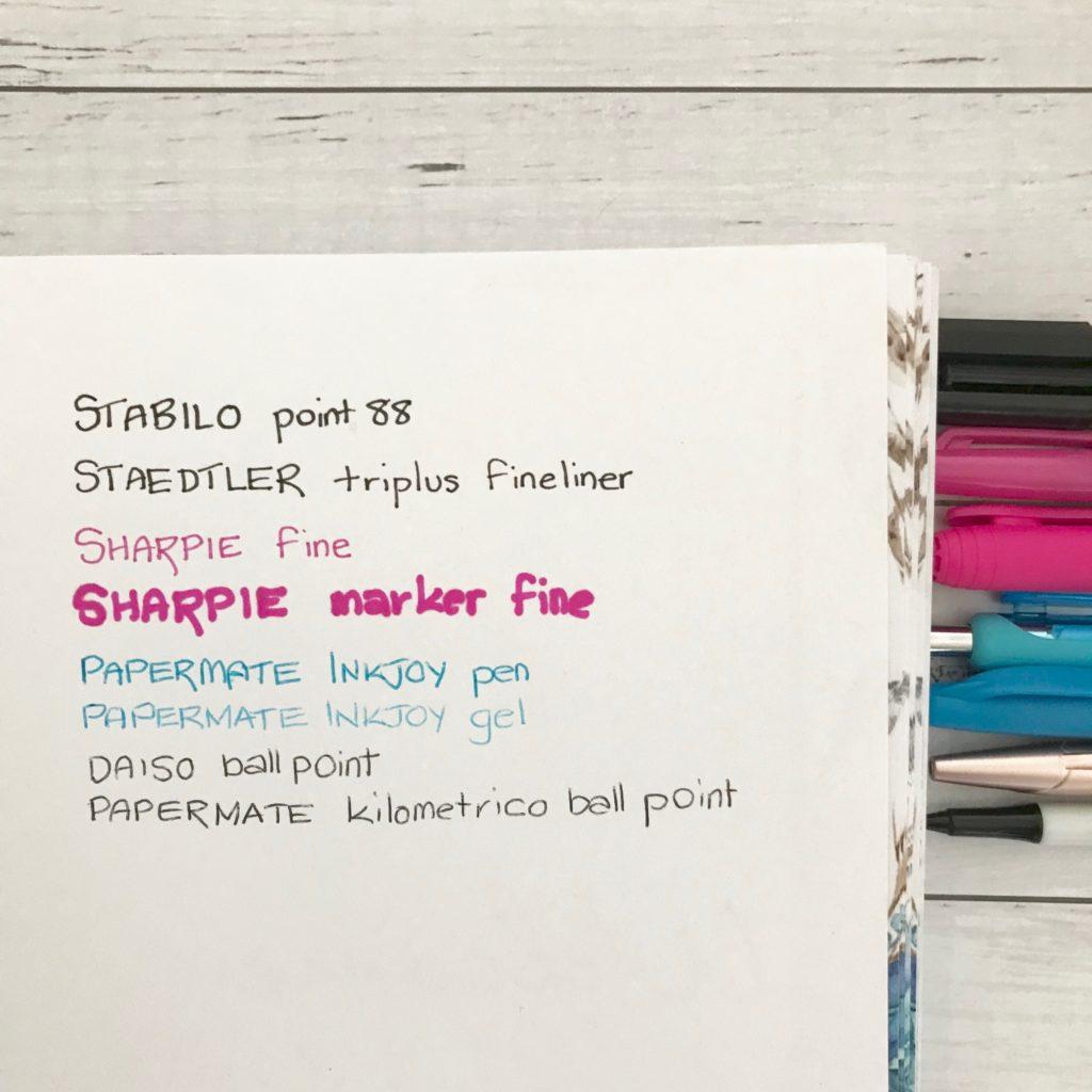 planner pen test