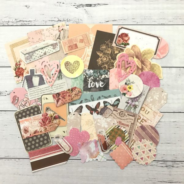vintage inspired paper deco pack
