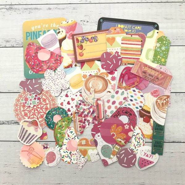 sweet treat diecut paper pack