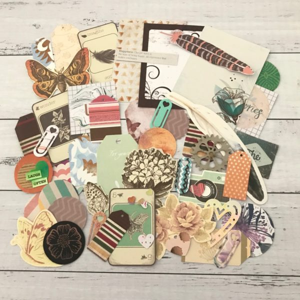Nature lovers diecut pack