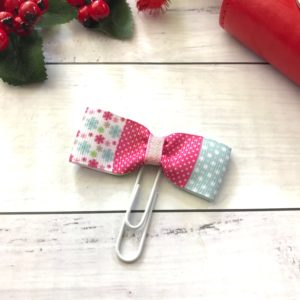 Pastel christmas planner accessory