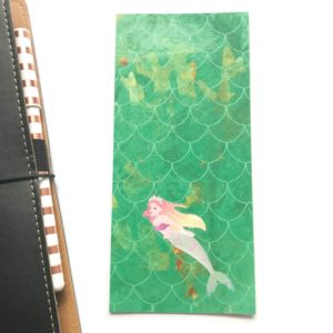 Mermaid hobonichi weeks pencil board